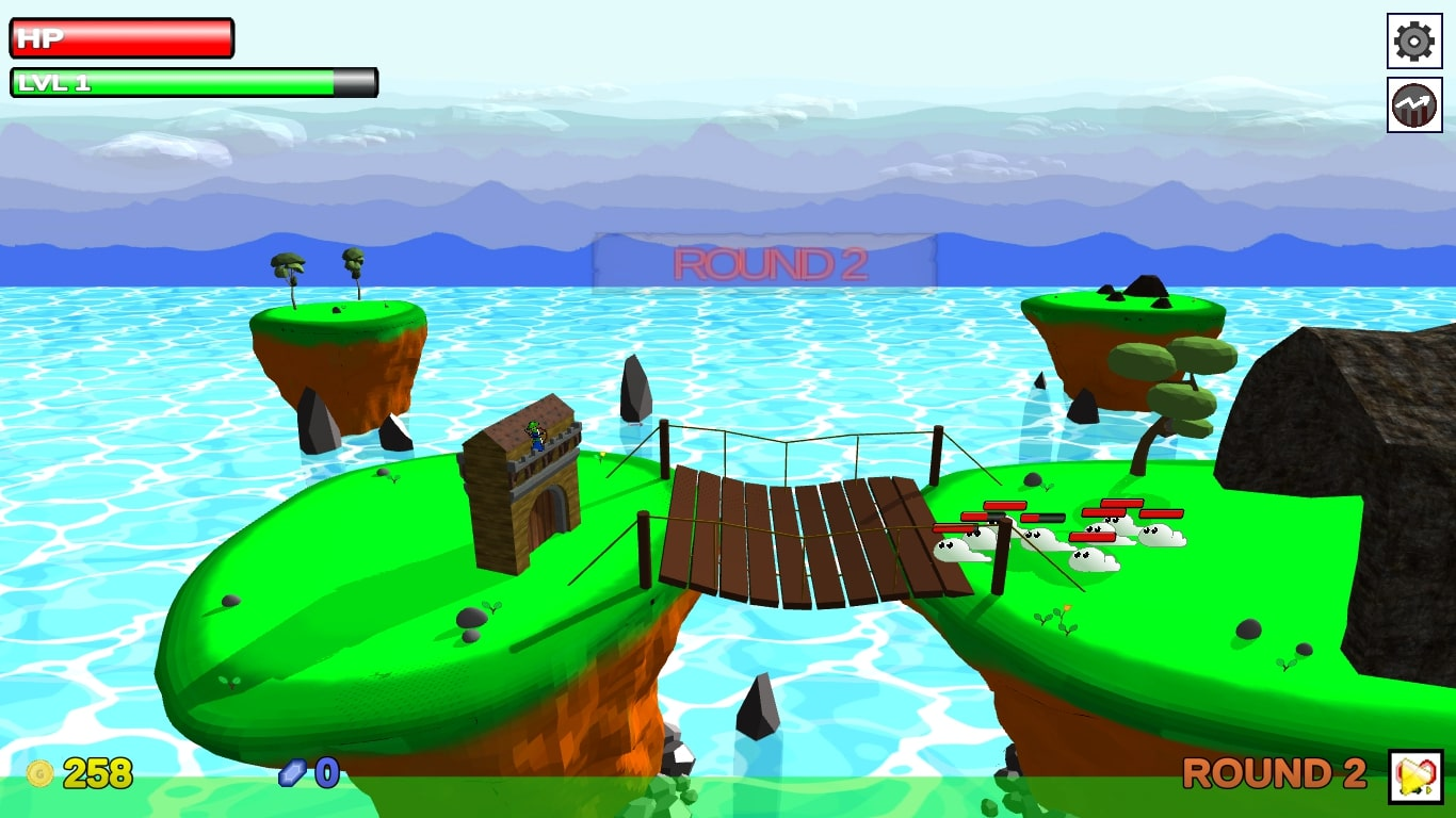 Grow Defense Game Screenshot